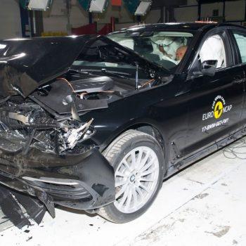 BMW seria 5 (fot. Euro NCAP)