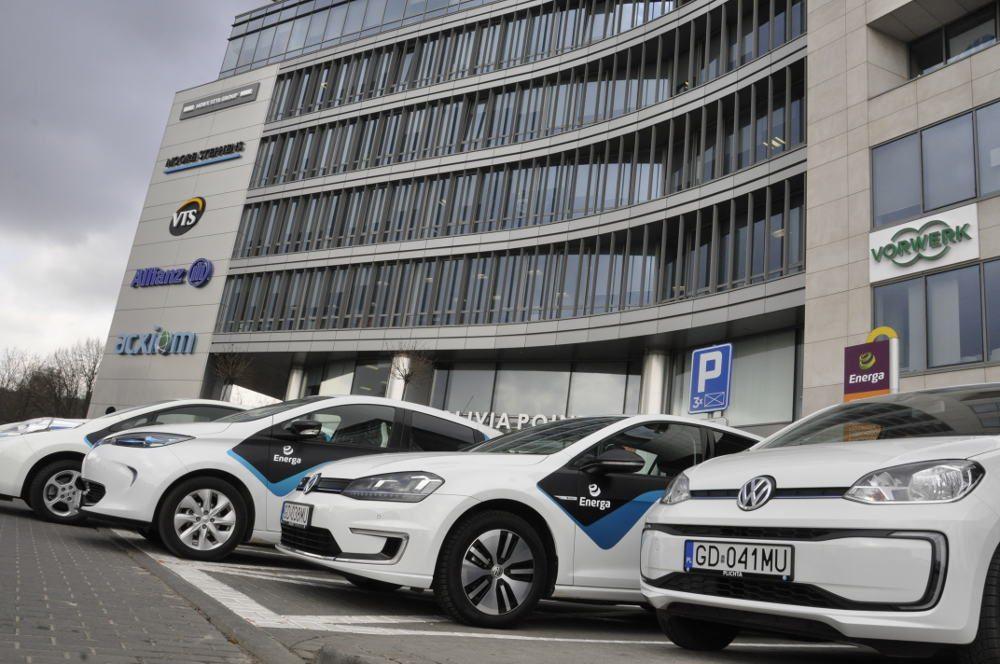 Wypożyczalnia samochodów elektrycznych (fot. Energa)