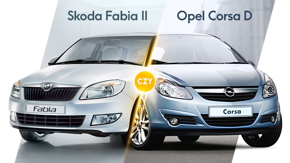 Skoda Fabia czy Opel Corsa D   autofakty.pl