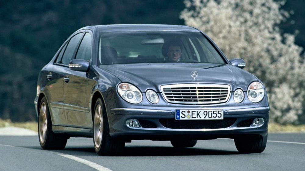 Mercedes Klasy E W211 (2002-2009)   autofakty.pl