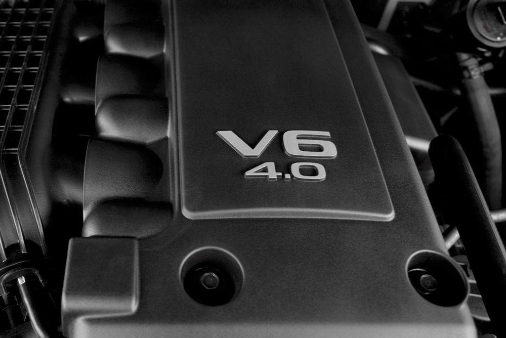 silnik benzynowy V6