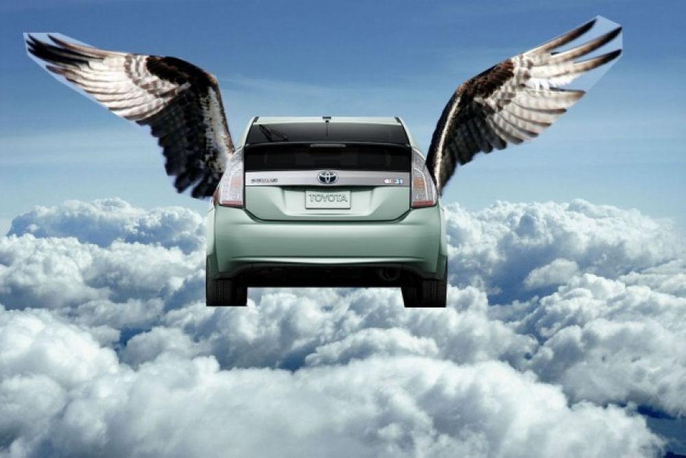 latająca Toyota (fot. techstory.in)
