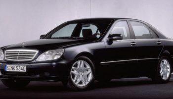 Mercedes Klasy S W220 (1998-2005)   autofakty.pl