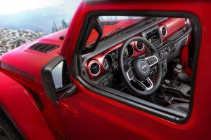wnętrze nowego Jeepa Wranglera, Jeep Wrangler, Jeep, Wrangler, nowy Jeep Wranger, nowy Wrangler