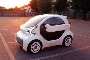 samochód elektryczny drukarka 3D, lsev