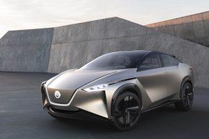 elektryczny SUV Nissan, nissan imx, nissan, koncept