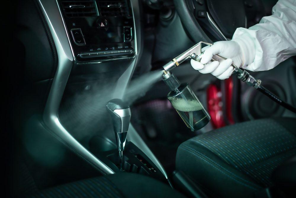 ozonowanie auta